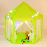 Princess Castle Play Tent Colorful Fairy House Toys Children Kids Canopy