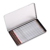 Dasheng H2010 12 Шт. / Компл. Набор карандашей для рисования эскизов Профессиональные карандаши для рисования 3H 2H H HB B 2B 3B 4B 5B 6B 7B 8B