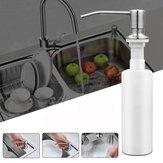 300 ml de pia de aço inoxidável montada na pia Sabão Dispenser Kitchen Banheiro Bottle
