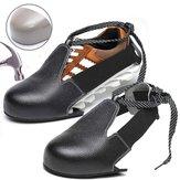 汎用靴カバー安全靴スチールつま先アンチスマッシングカバー作業靴レザーカバー滑り止め
