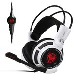 SOMiC G941 Virtual 7.1 Surround SVE Motor de Vibração Inteligente USB Gaming Headphone Com Microfone para Computador Profissão Gamer