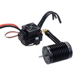 Surpass Hobby ضد للماء F540 V2 Motorless Brushless Motor with 60A ESC for 1/10 RC Vehicles