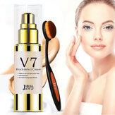 2in1 30 ml bloc défaut blanchiment crème lotion visage soins de la peau correcteur + brosse