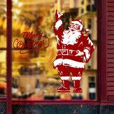Miico SK9248 ملصقات عيد الميلاد سانتا كلوز نمط ملصقات الحائط القابل للديكور الغرفة