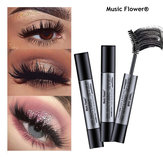 Music Flower Black Thick Double Cepillo Rimel Electric Eye F