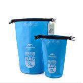 2L / 5L ضد للماء حقيبة الجاف الحقيبة الرياضة في الهواء الطلق الانجراف تجمع التجديف حزمة التخزين