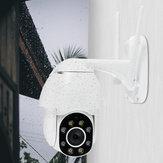 1080P Wifi IP Cámara Impermeable al aire libre HD Vigilancia de visión nocturna a todo color 360 °