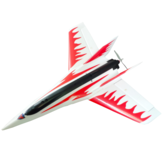 Stinger T750 750 mm Envergadura EPO Racing Delta Wing RC Airplane KIT Solo