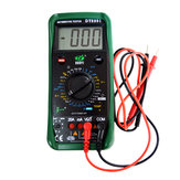 DUOYI DY2201 Digital Automotive Tester Multimeter 500-10000 RPM Dwell Angle Temperature Meter Multimetro