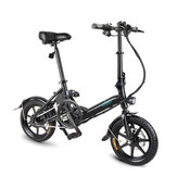[EU Direct] FIIDO D3 5.2Ah 36V 250W 14 Inches Folding Moped Bicycle 25km/h Max 35KM Mileage Mini Electric Bike