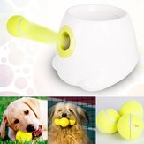 Interactive Hyper Fetch Mini Treat Dog Cat Pet Ball Machine Launcher Toys Game Trainer