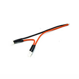 URUAV 2S PH2.0 Pigtail Solid Pin 20AWG 100mm Solering القوة Cable Wire for TRASHCAN Mobula7 Whoop FPV Racing Drone