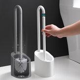 Toilette Pennello Pulizia magnetica Pennello Maniglia lunga in plastica per bagno in plastica PP Tipo