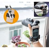 Universal Mobile هاتف محول Clip Bracket Mount Mount Holder for Telescope Microscope متوافق مع عدسة تلسكوب 38-50 مللي متر