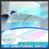 Protetor dobrável ajustável do vento do defletor do condicionador de ar do defletor do condicionamento de ar