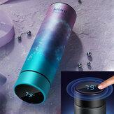 CS04-450 Garrafa térmica de aço inoxidável de 450ML Smart Mug com tela de toque LCD com visor de temperatura e copo de vácuo