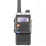BAOFENG UV82 PLUS VHF / UHF Dual Banda Walkie Talkie Transmissor FM de rádio bidirecional com flashlight