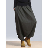 Women Elastic High Waist Street Harem Pants