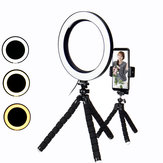 Tripé de 8,3 polegadas Live Stream Selfie LED Ring Light Fill Light com suporte para telefone