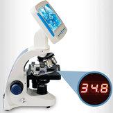 2000X Επαγγελματικό Βιολογικό Μικροσκόπιο Παρατήρηση Σπέρματος Ζωική Υδατοκαλλιέργεια Ειδικό Μικροσκοπικό All-in-one