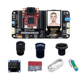 pyAI- OpenMV4 H7 Development Board Cam Camera Module AI Artificial Intelligence Python Learning Kit 01Studio for Arduino - products that work with official Arduino boards
