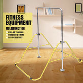 Fitness Equipment Stainless Steel Adjustable Gymnastics Horizontal Bar Axis Kip Bar Set Climbing Tower Gym