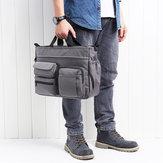 HerrenNylonMulti-Pocket-Handtaschefür14-Zoll-Computergeschäft