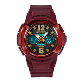SANDA 757 Children Dual Display Digital Watch for Kids