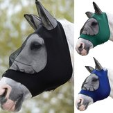 Full Face Anti UV Anti Fly Horse Mask Oorbedekking Armor Mesh