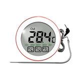 Round Touch Voedselthermometer Temperatuursensor Meerdere modi om kamertemperatuur te meten Barbecue Vleestemperatuursonde