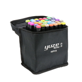 80 Colors Anime Art Marker Double Headed Sketch Alcohol Marker Pen Set Stationery Supplies