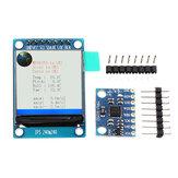 IIC I2C GY-521 MPU-6050 MPU6050 Acelerômetro de sensores de giroscópio analógico de 3 eixos + 1,3 polegadas LCD Módulo 3-5V DC Geekcreit para Arduino - produtos que funcionam com placas oficiais Arduino