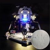 DIY LED-lichtverlichtingsset ALLEEN voor LEGO 10266 Apollo 11 Lunar Lander-bouwsteen