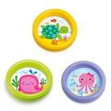 24 '' Φουσκωτή μπανιέρα μωρού PVC παχιά φορητή μπανιέρα μπανιέρας παιχνίδια για παιδιά
