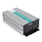 1000W DC12V a AC220V / 110V Inversor de potencia de onda sinusoidal pura fuera de la red LED Pantalla