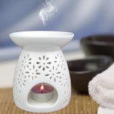 Ceramic Fragrance Essential Oil Burners Aromatherapy Scent Candle Holder Home Incense Burner