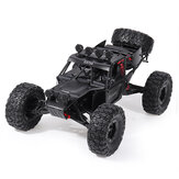 Eachine EAT04 1/12 2.4G 4WD Cepillo Rc Coche Metal Body Shell Desert Off-road Truck RTR Toy Negro
