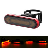 XMUND XD-BL5 Wireless Remote Control Turn Signal Warning Bike Light USB Rechargeable Waterproof 4 Modes Cycling Rear Light Direction Indicator Lamp