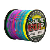 8 Strands Braided Fishing Line 500m Multi Color Super Strong Multifilament PE Braid Line 10LB 20LB 30LB 40LB 100LB 200LB