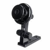 Mini Wifi 1080P HD Kablosuz IP Kamera Kızılötesi CCTV Gece Görüş Hareket Algılamaları Ses Hareket Tracker 360 ° Ev Güvenlik