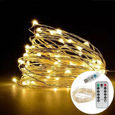 7M IP65 8 Modes USB 50LED Fairy String Light for Outdoor Indoor Garden Holiday Party Wedding