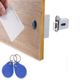 Electronic DIY Hidden RFID Card IC Card Intelligent Sensor Cabinet Lock Wardrobe Shoe Drawer Door Lock