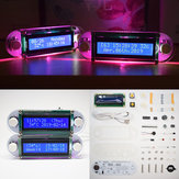 Geekcreit® DIY Candlelight Effect LCD1602 Vibration DIY Clock Kit