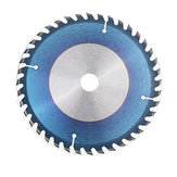 Drillpro 6/7/8 Inch HSS Circular Saw Blade 40T Nano Lapisan Biru Woodworking Cutting Disc