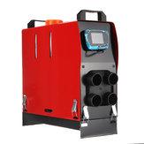 8000 W 12 v / 24 v Araba Park Dizel Hava Isıtıcı Oto Kremi Yakacak Odun Makinesi Sıcak Fan Buz Çözücü