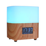 Essential Oil Diffuser 300ML Ultimate Aromatherapy Diffuser with Digital Clock Ideal Gift 7 Color Changing LED Aroma Diffuser