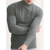 Mens Thermal Underwear T-shirt Long