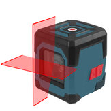 HANMATEK LV1 Laser Level Cross Line Laser with Measuring Range 50ft, Self-Leveling Vertical and Horizontal Line