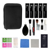 16PCS / Set Professional Cámara Kit de limpieza Cepillo para Cámara Lente Pantalla Teléfonos móviles