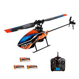 Eachine E119 2.4G 4CH 6-Axis Gyro Flybarless RC Helicopter RTF 3 stks 4 stks Batterijen Versie